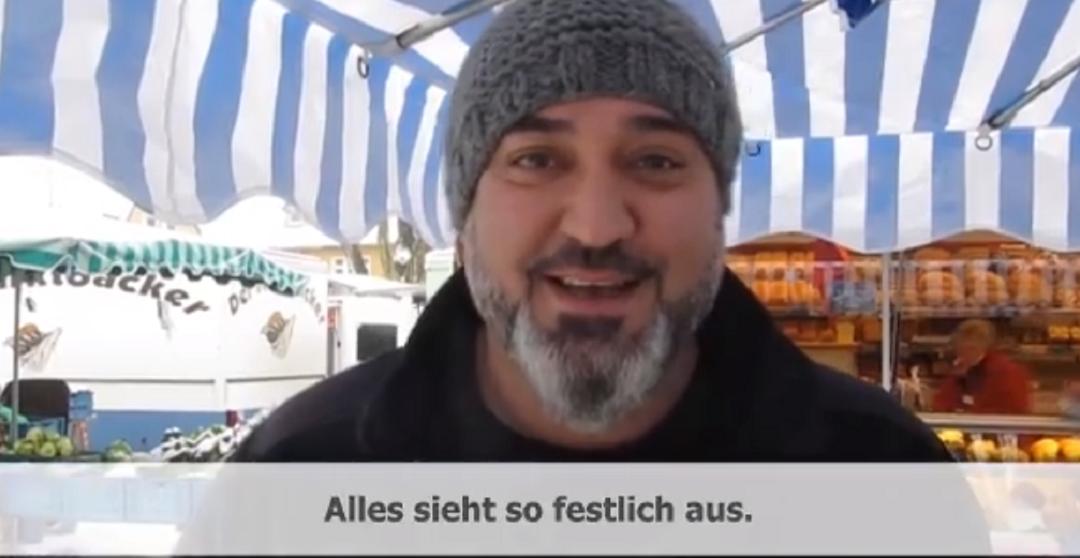 """Lohberg liest """"Weihnachten"""""""