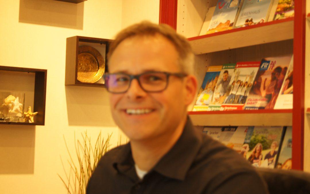Unternehmen in Lohberg: Jens Förster vom Johannesplatz