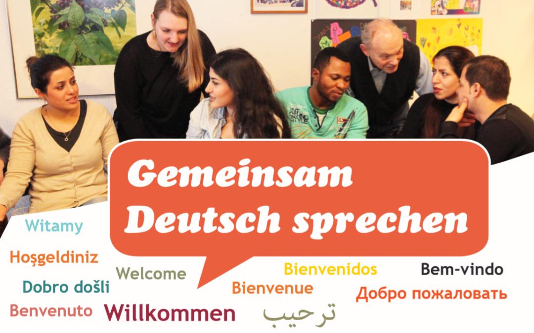 Mit anderen gemeinsam Deutsch sprechen