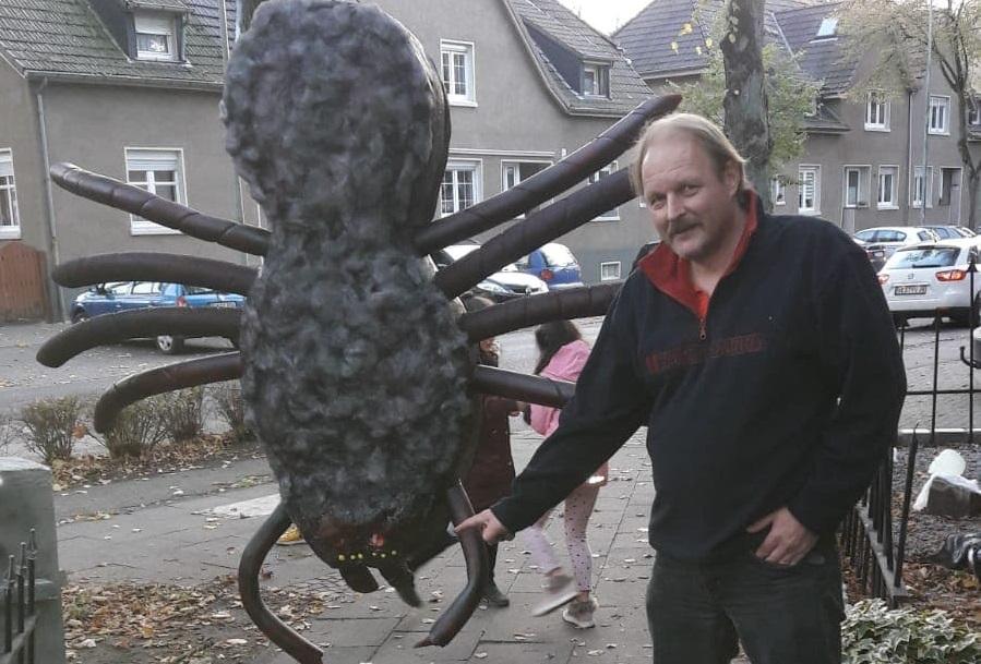 Halloween-Alarm auf der Lohbergstraße