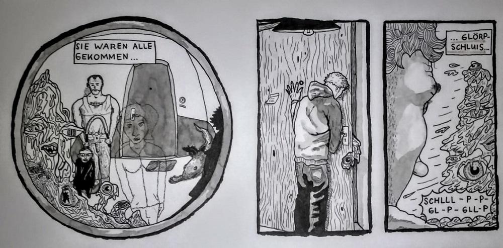 Galerie 399: Gianni Düx zeigt seine Welten