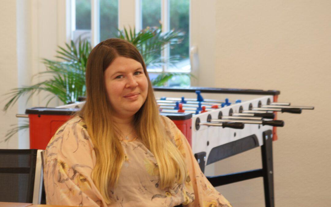 Sonja Gerwers, die neue Leiterin der Jugend-OT