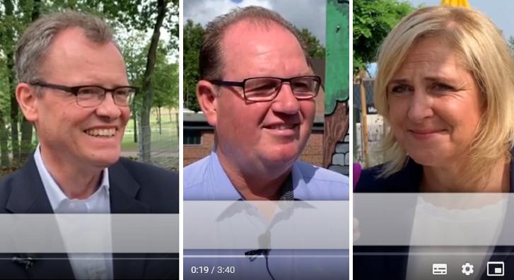 Mann oder Maus? 42 schnelle Fragen an die Bürgermeisterkandidaten im Video