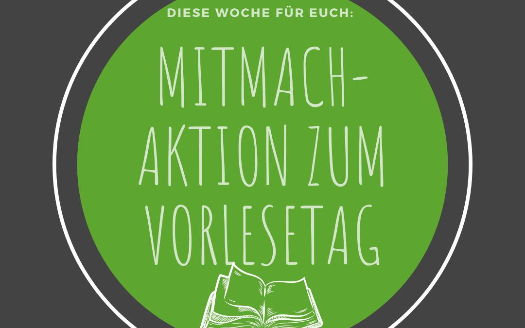 Mitmach-Aktion zum Vorlesetag gestartet