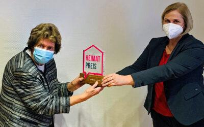 Dinslakener Heimatpreis für Dr. Inge Litschke