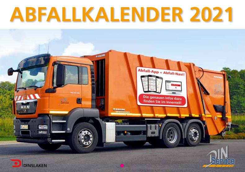 Abfallkalender der Stadt