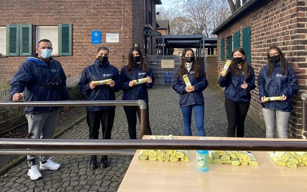 MiLo-Gruppe verteilt Gelbe Säcke